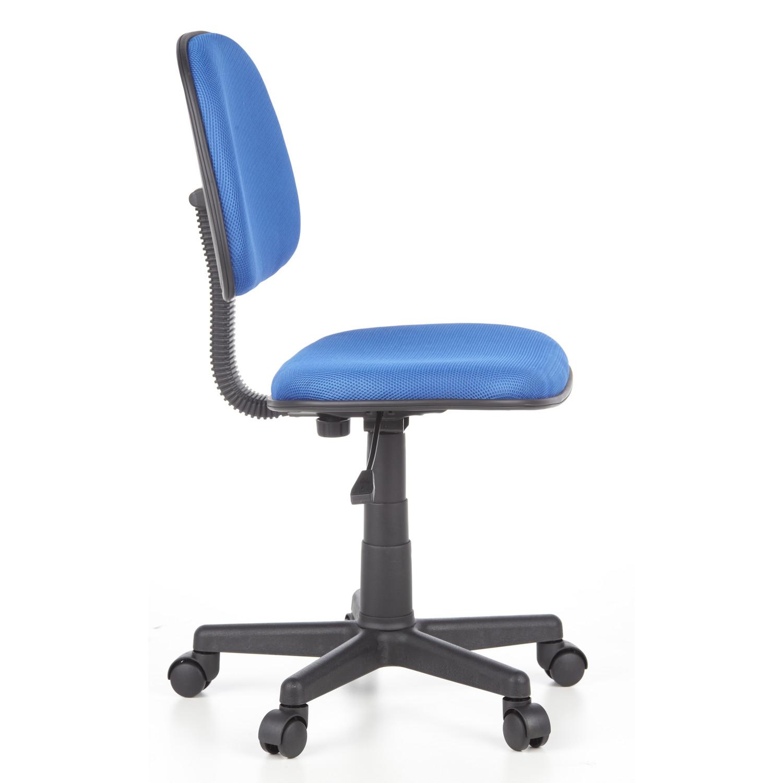 Silla de oficina city 05 ajustable acolchada en azul for Sillas de oficina precios