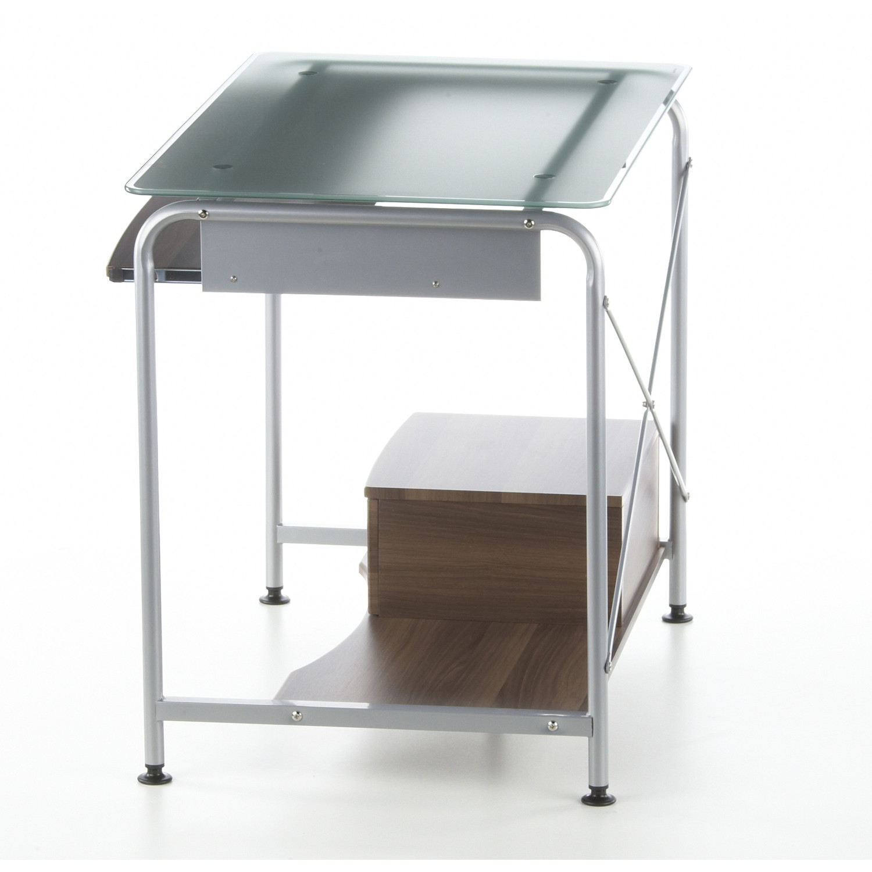 Mesa de ordenador compact pro ahorro de espacio para tu for Mesas ordenador para espacios pequenos