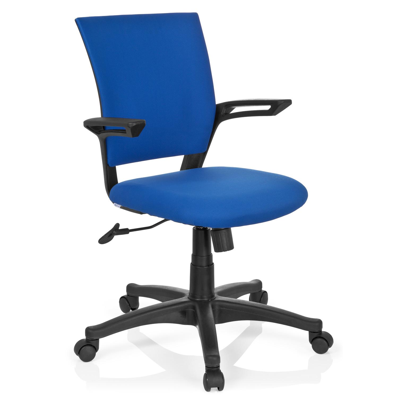 Silla de oficina lester dise o moderno y elegante en azul for Silla oficina diseno