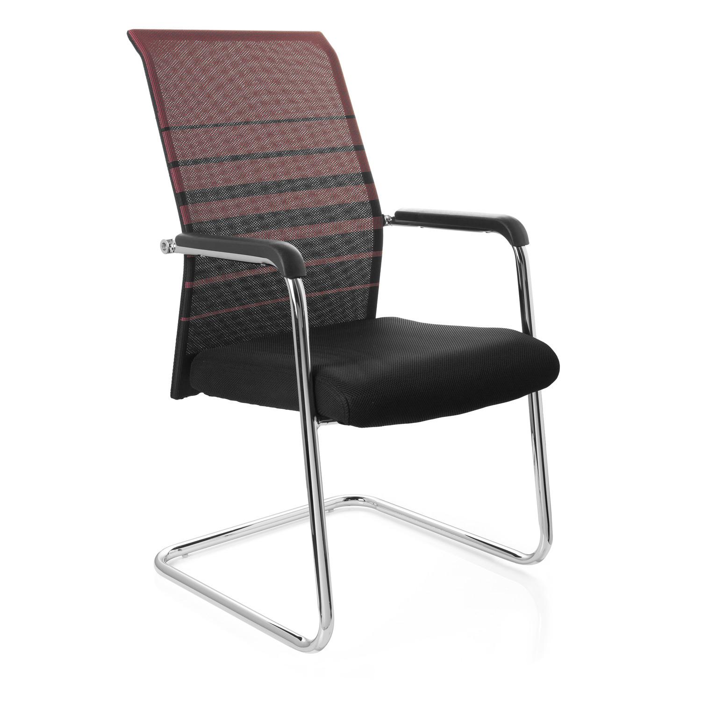 Silla de confidente falco estructura met lica dise o for Diseno de silla ergonomica