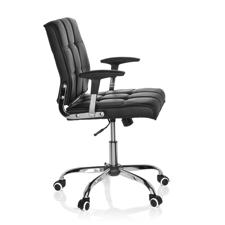 Silla de oficina esteban base de aluminio negra silla for Silla oficina diseno