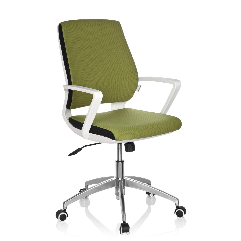 Silla de oficina elisa uso 8h base de aluminio verde for Sillas de oficina modernas