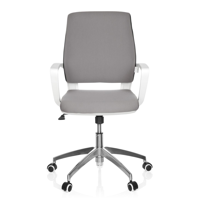 Silla de oficina elisa uso 8h base de aluminio gris for Sillas de oficina diseno