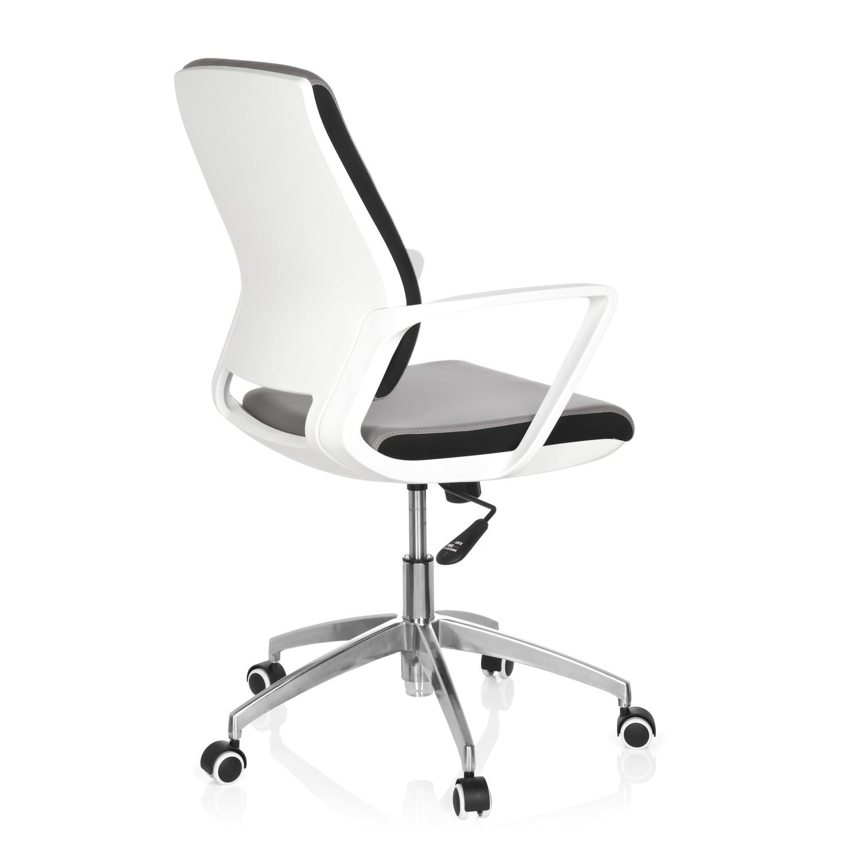 Silla de oficina elisa uso 8h base de aluminio gris for Silla oficina diseno