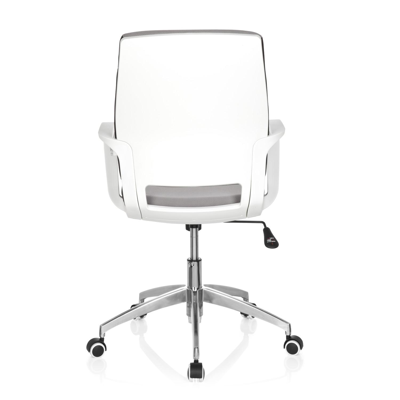 Silla de oficina elisa uso 8h base de aluminio gris for Sillas de escritorio de diseno