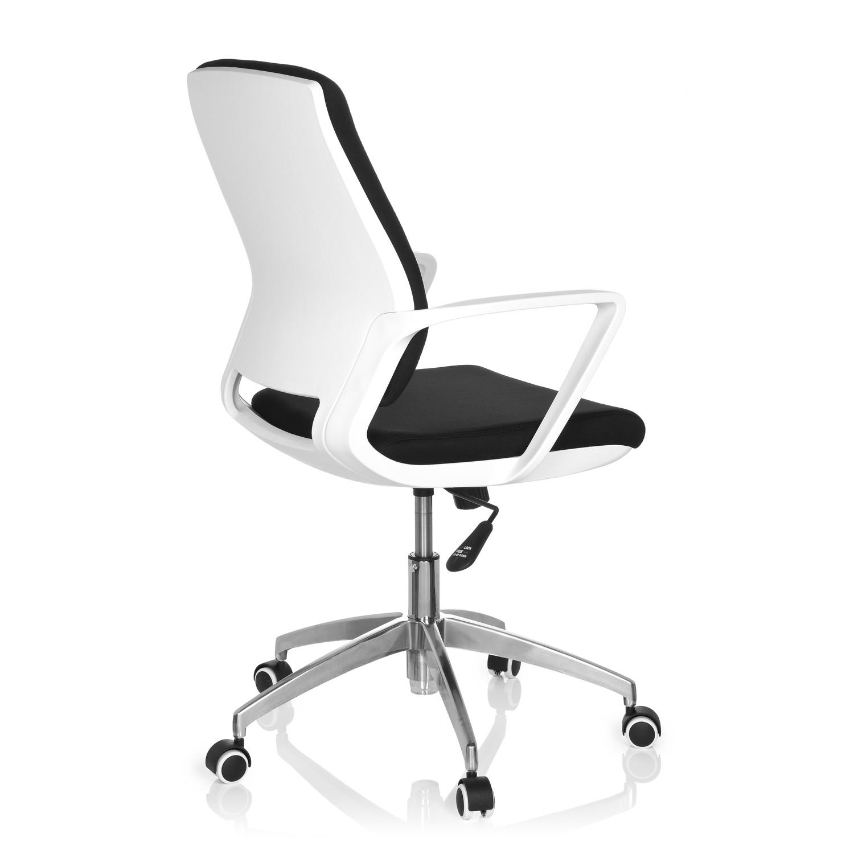 Silla de oficina elisa uso 8h base de aluminio negra for Silla oficina moderna