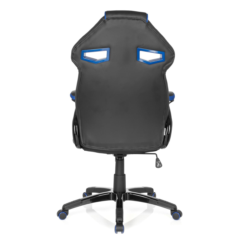Silla gaming modelo wind exclusivo dise o en negro y azul for Silla oficina diseno