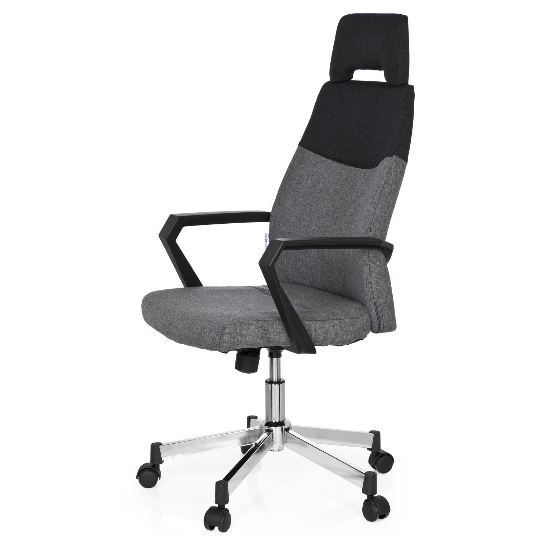 silla de oficina colonial pro respaldo en dos tonos muy elegante color gris