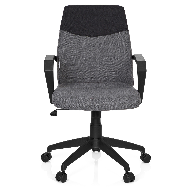 silla de oficina colonial respaldo en dos tonos muy elegante color gris