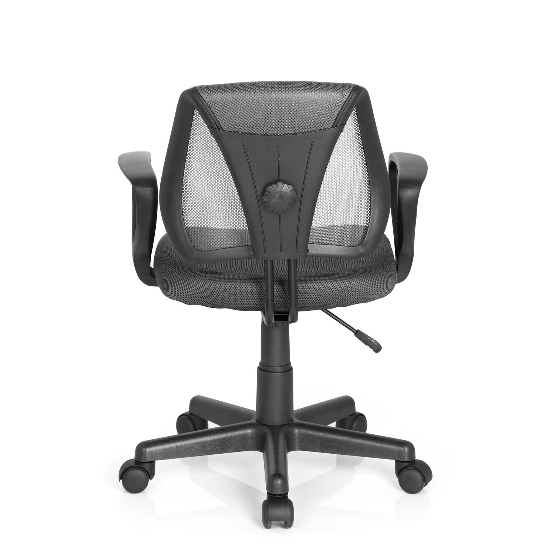 Silla para ni os ergon mica polo dise o en gris silla for Sillas de oficina infantiles
