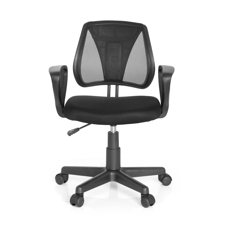 Silla para ni os ergon mica polo dise o en negro silla for Sillas de oficina infantiles