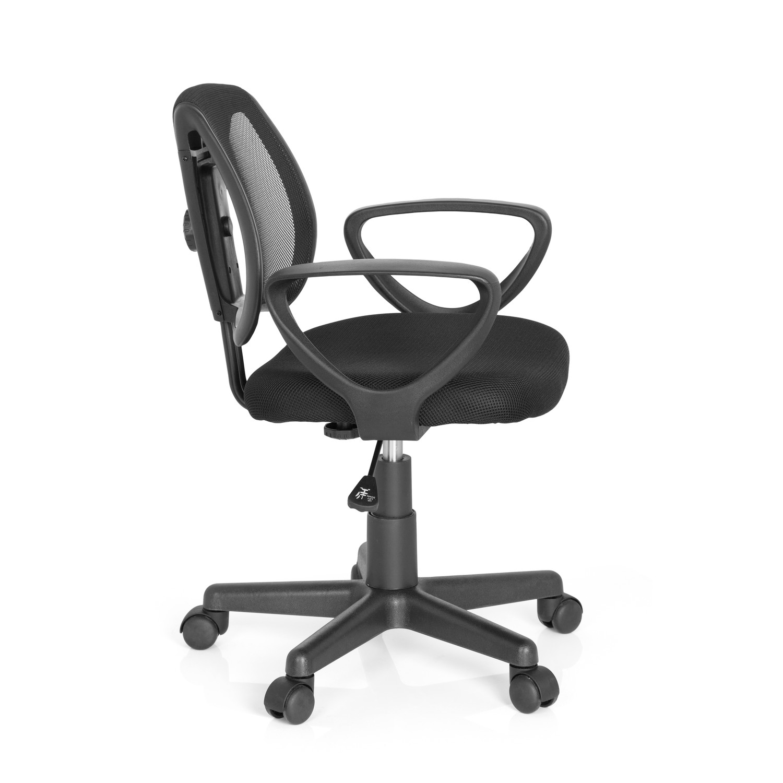 Silla para ni os ergon mica polo dise o en negro silla ergon mica para ni os polo respaldo - Sillas de oficina ninos ...