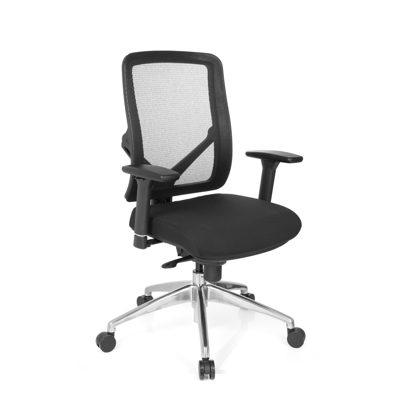 Silla de oficina ikaro ajustable uso 8 horas en negro for Asiento silla oficina