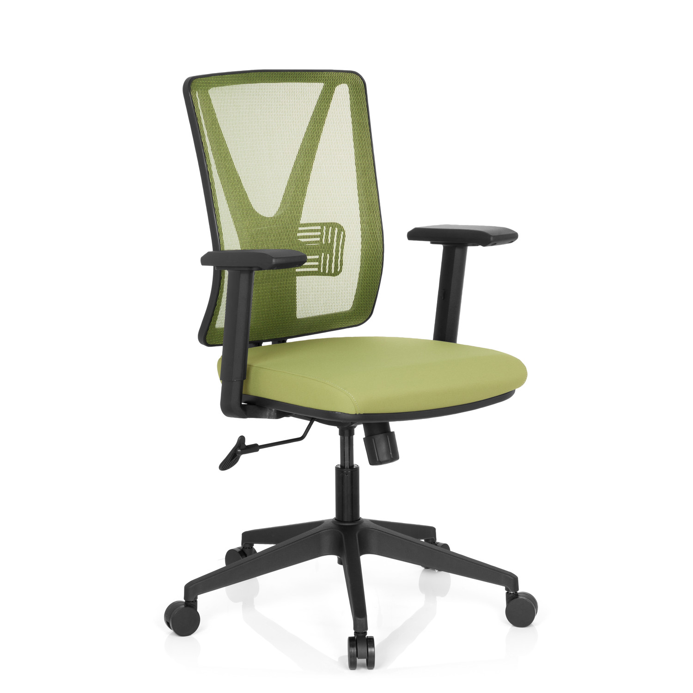 Silla de oficina udine soporte lumbar en malla y tela for Soporte lumbar silla oficina
