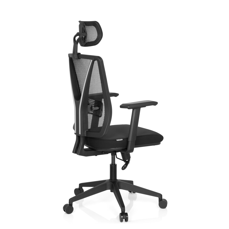 Silla de oficina udine pro soporte lumbar en malla y for Soporte lumbar silla oficina