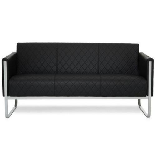 Sofa 3 plazas de dise o aruba muy elegante con costuras - Sofas elegantes diseno ...