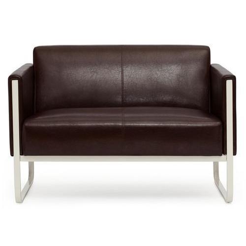 Sofa 2 plazas de dise o aruba muy elegante con costuras - Sofas elegantes diseno ...