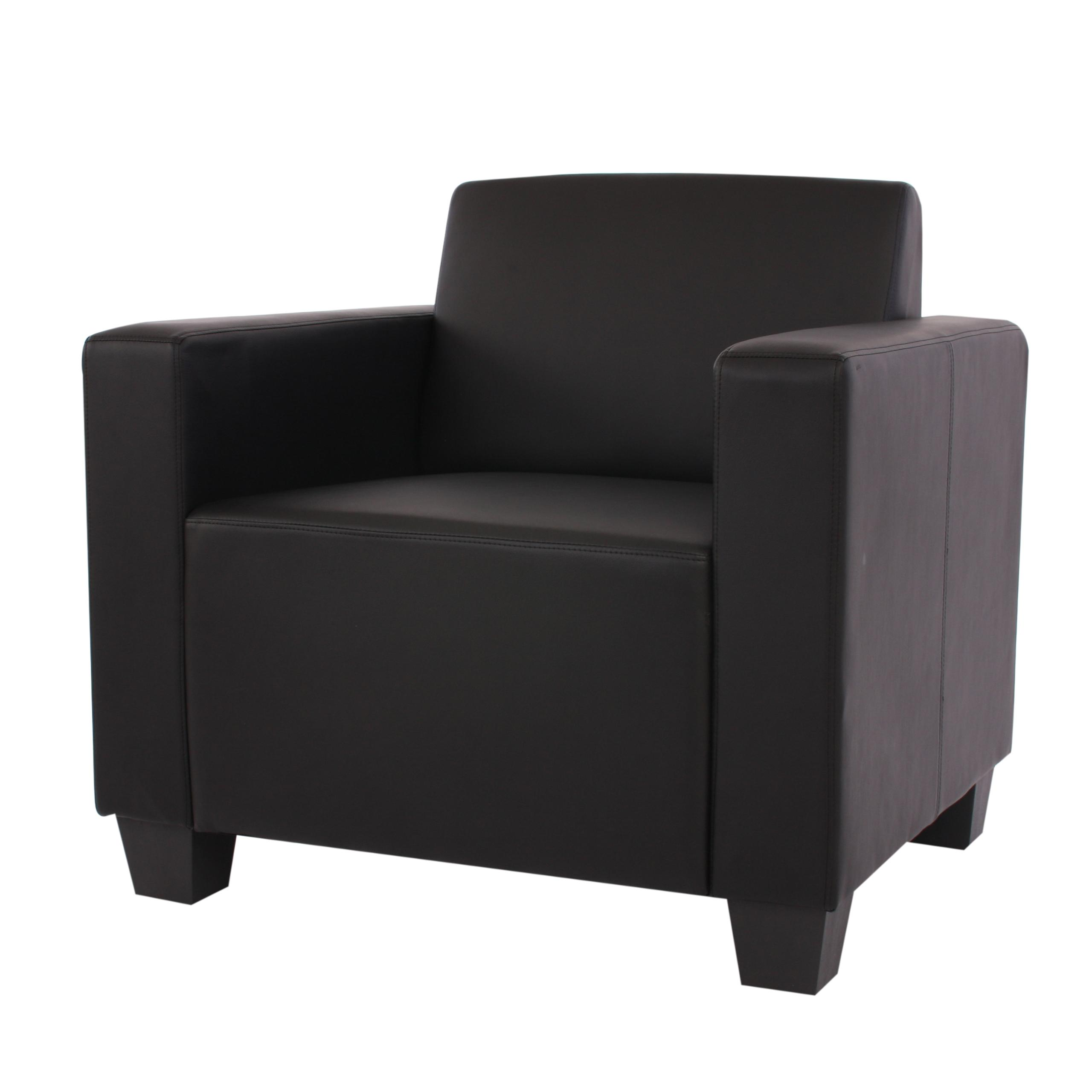 Sof 1 plaza lyon gran dise o y confort en piel negra sill n 1 plaza lyon gran dise o y - Sillon de una plaza ...
