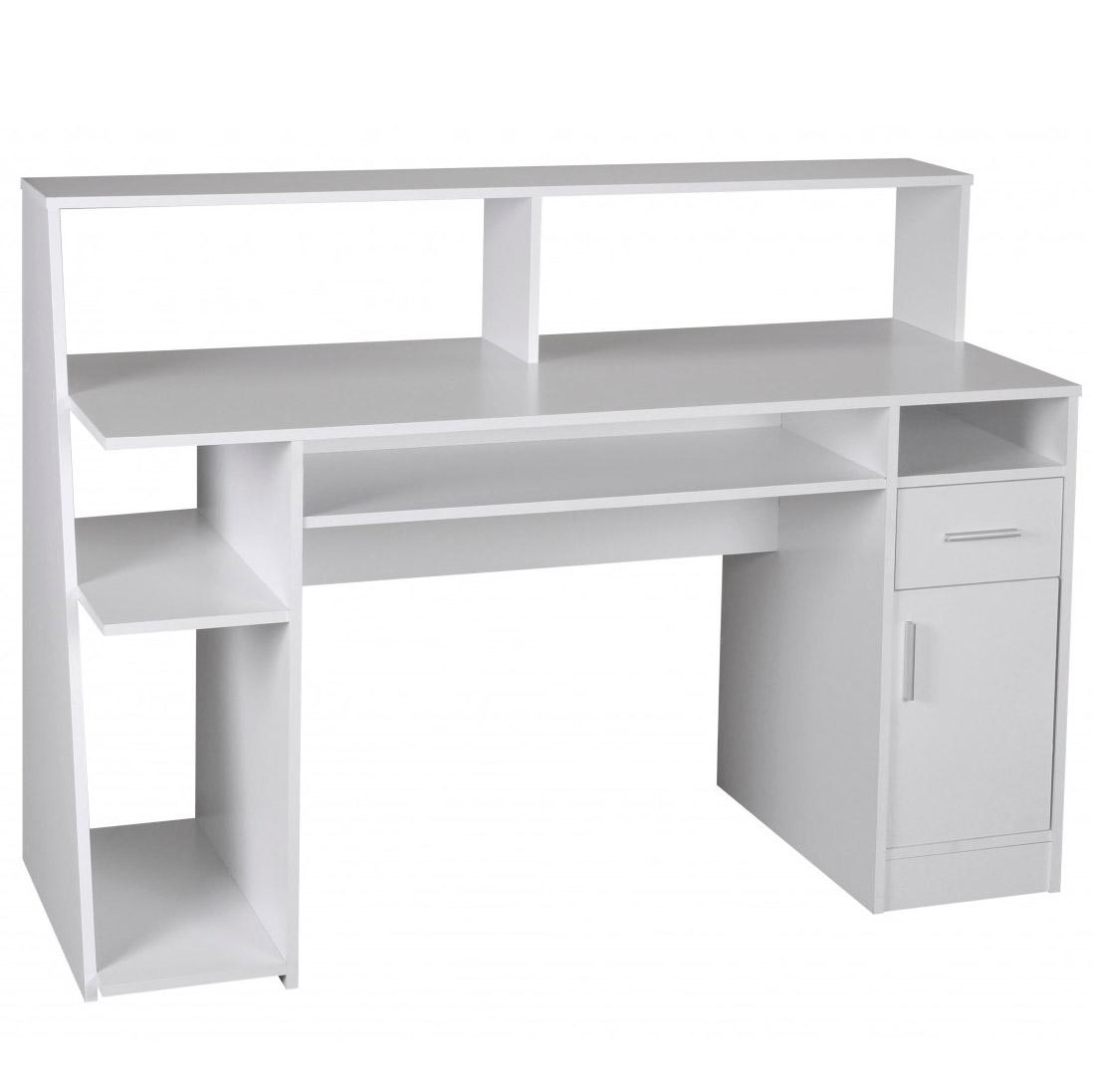 Mesa de ordenador virginia amplio espacio en blanco for Mesas de ordenador