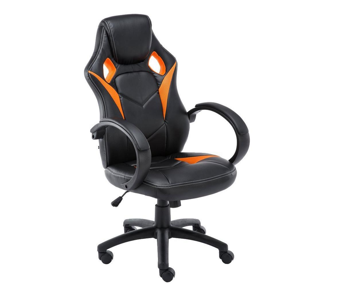 Silla gaming jarama dise o deportivo color negro y for Rebajas sillas gaming