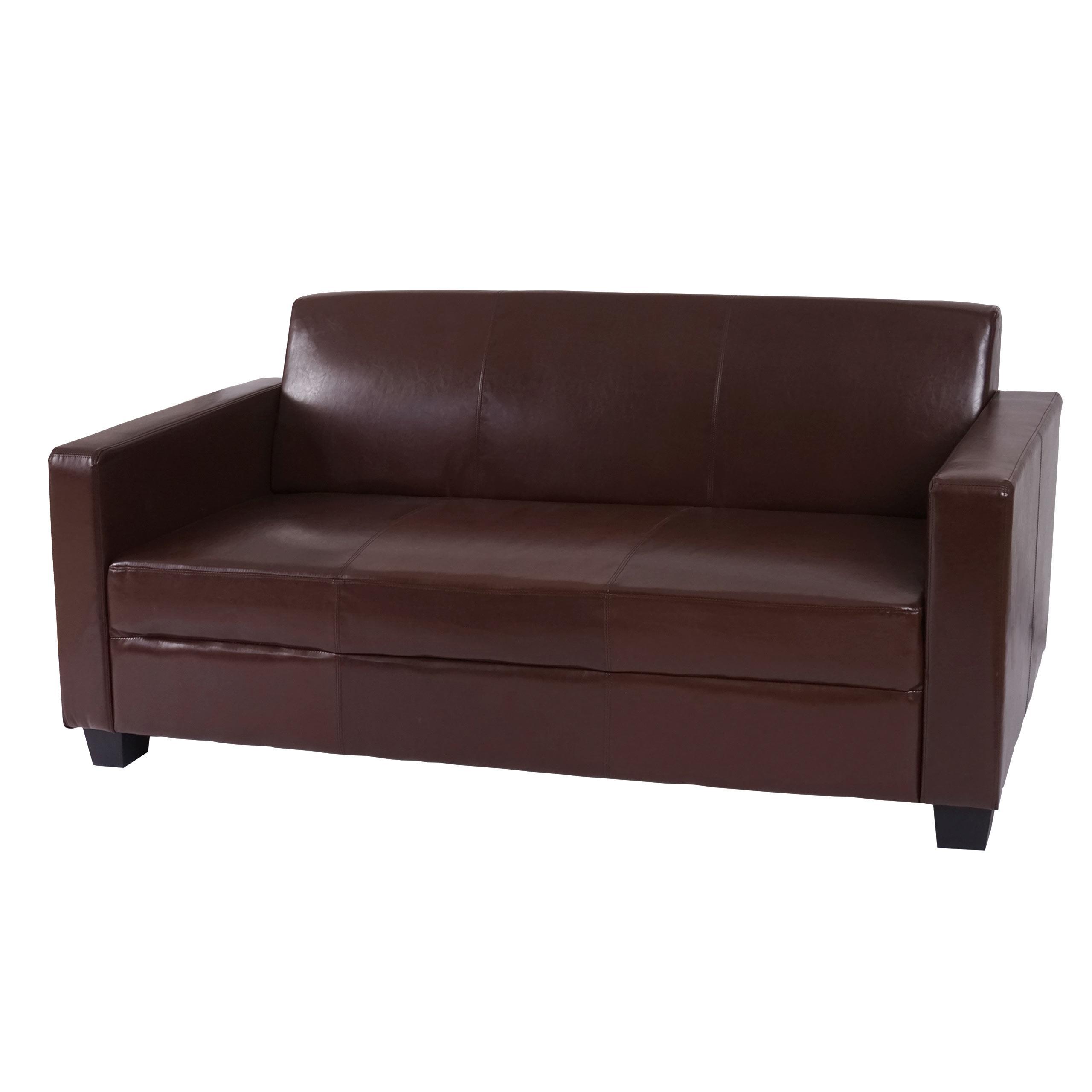 Sof 3 plazas couch gran dise o y muy c modo en piel - Sofas de diseno en piel ...