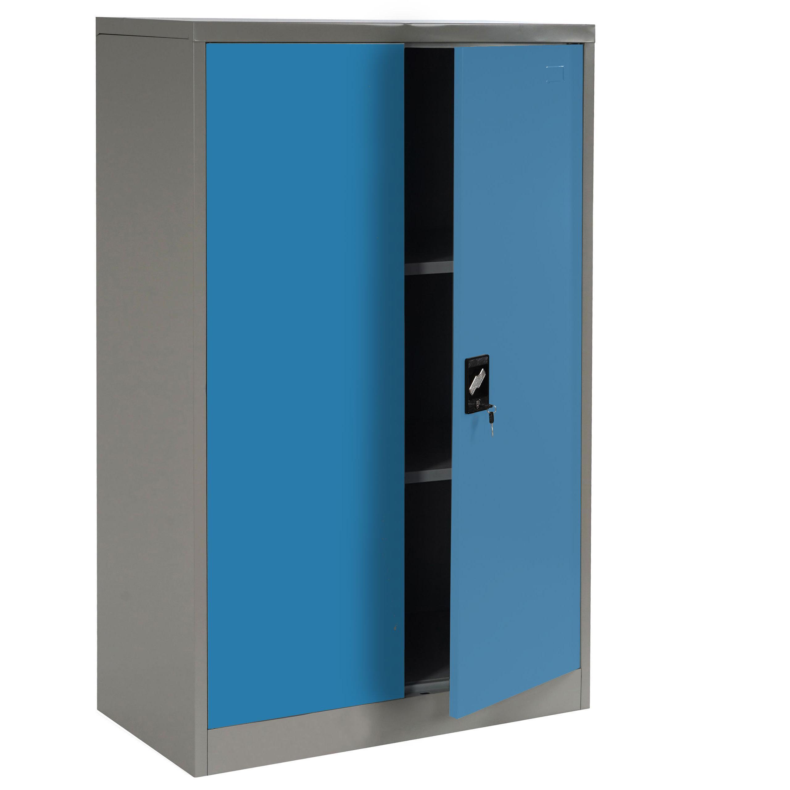 Artesanato Kit Para Banheiro ~ Armario archivador metálico EDIT 2 PUERTAS 140x80x40 cm Gran capacidad de almacenaje y máxima