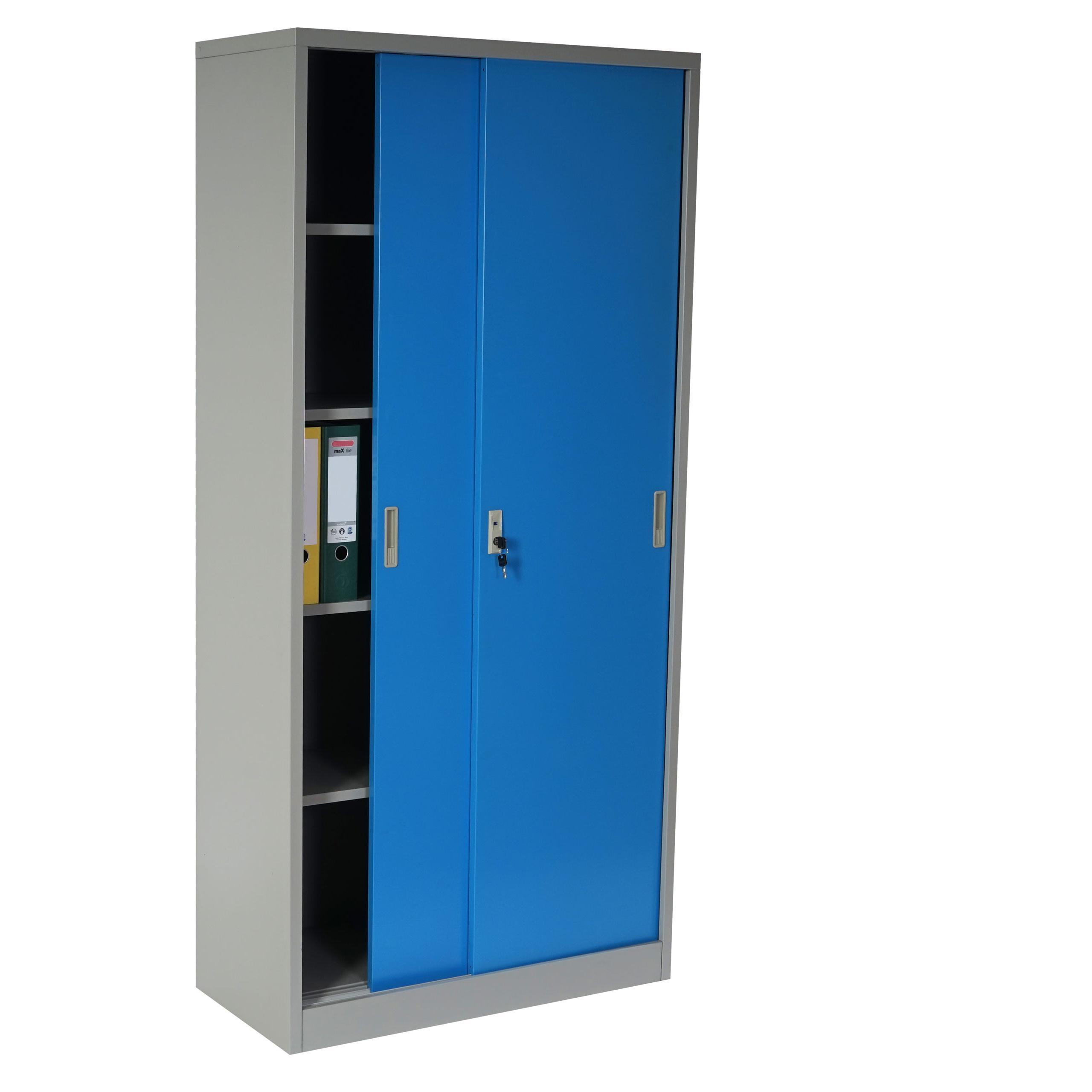 Artesanato Kit Para Banheiro ~ Armario archivador metálico EDIT de 180x85x40 2 puertas correderas, gran capacidad de