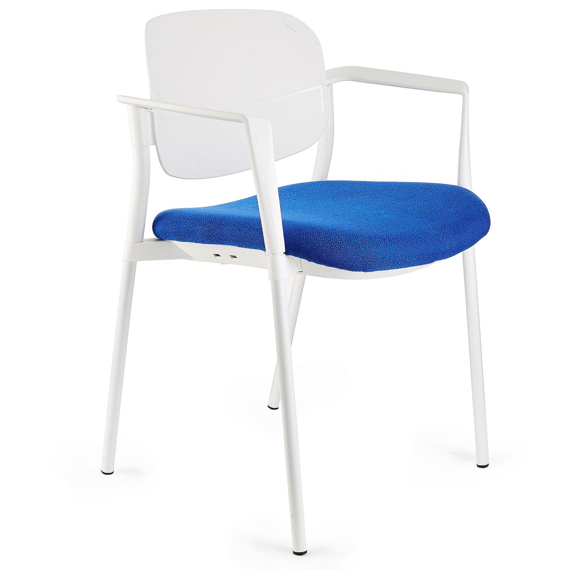 silla de confidente eric en color azul silla de