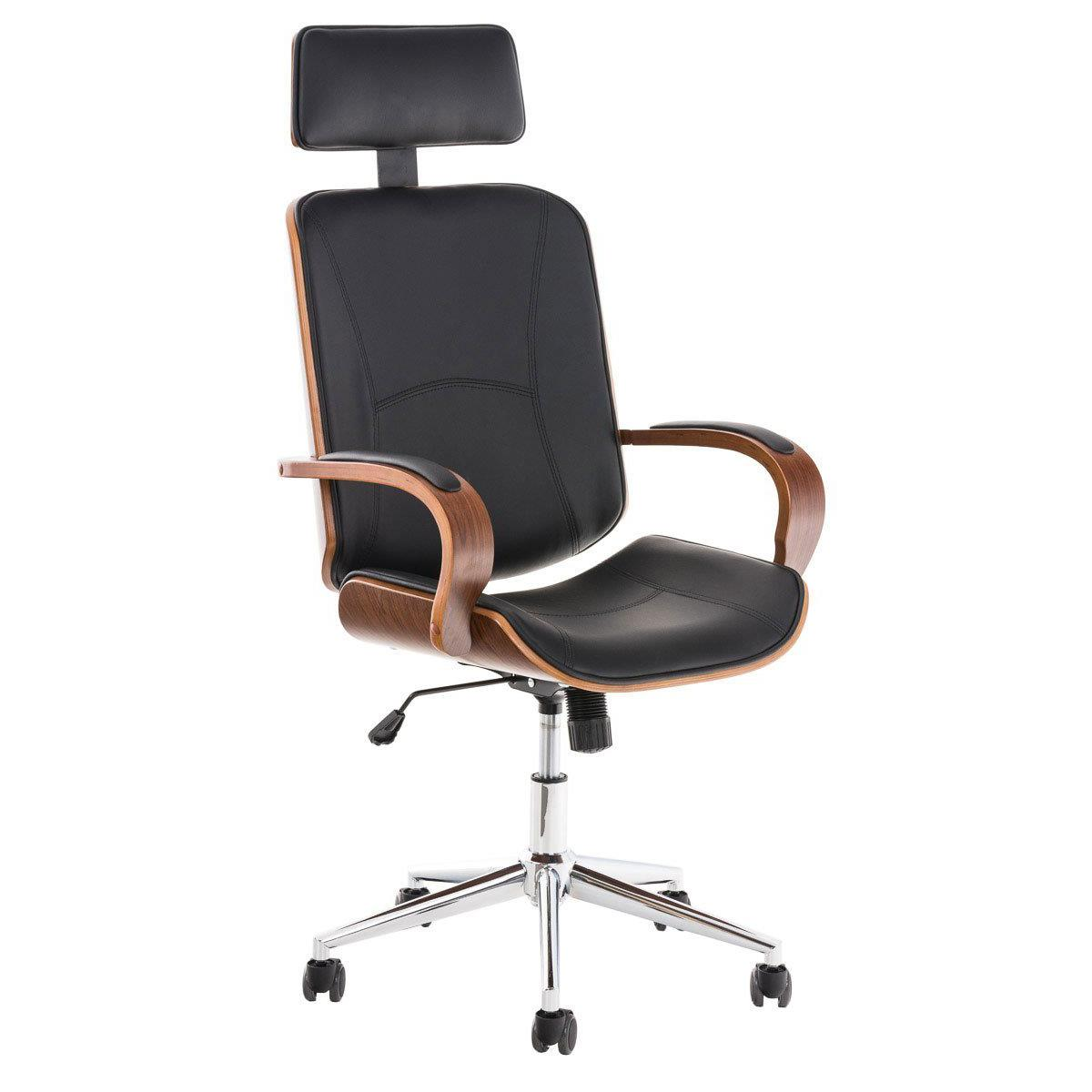 Silla de oficina jutta en color negro silla de oficina for Silla oficina diseno