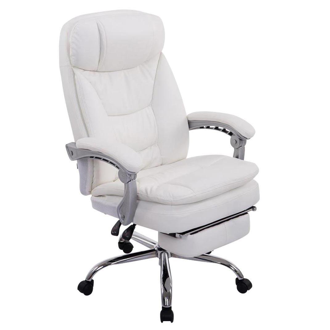 Sill n de oficina austin piel reclinable en varias - Sillon reclinable piel ...