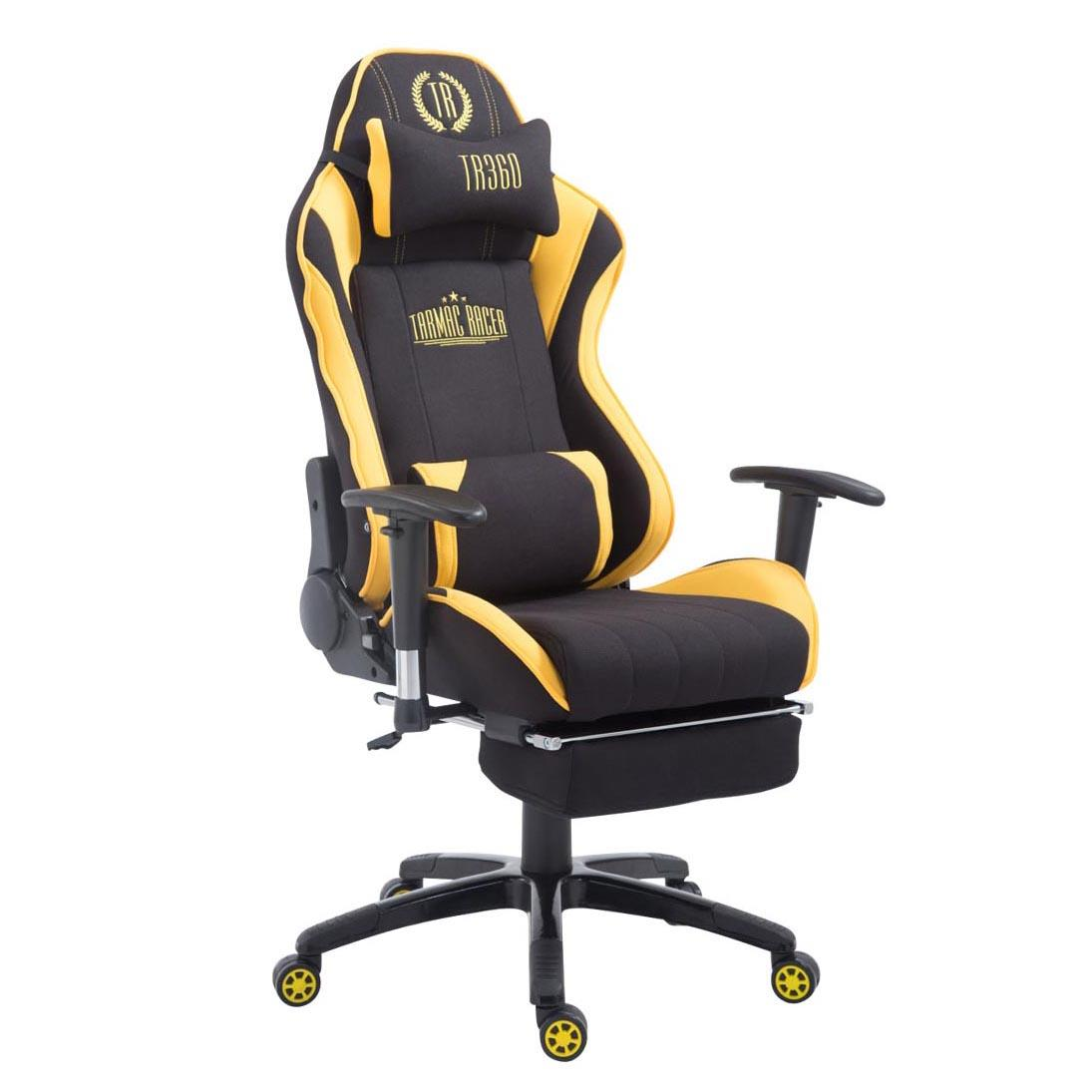Silla gaming turbo tela con reposapi s reclinable con for Silla gaming con altavoces