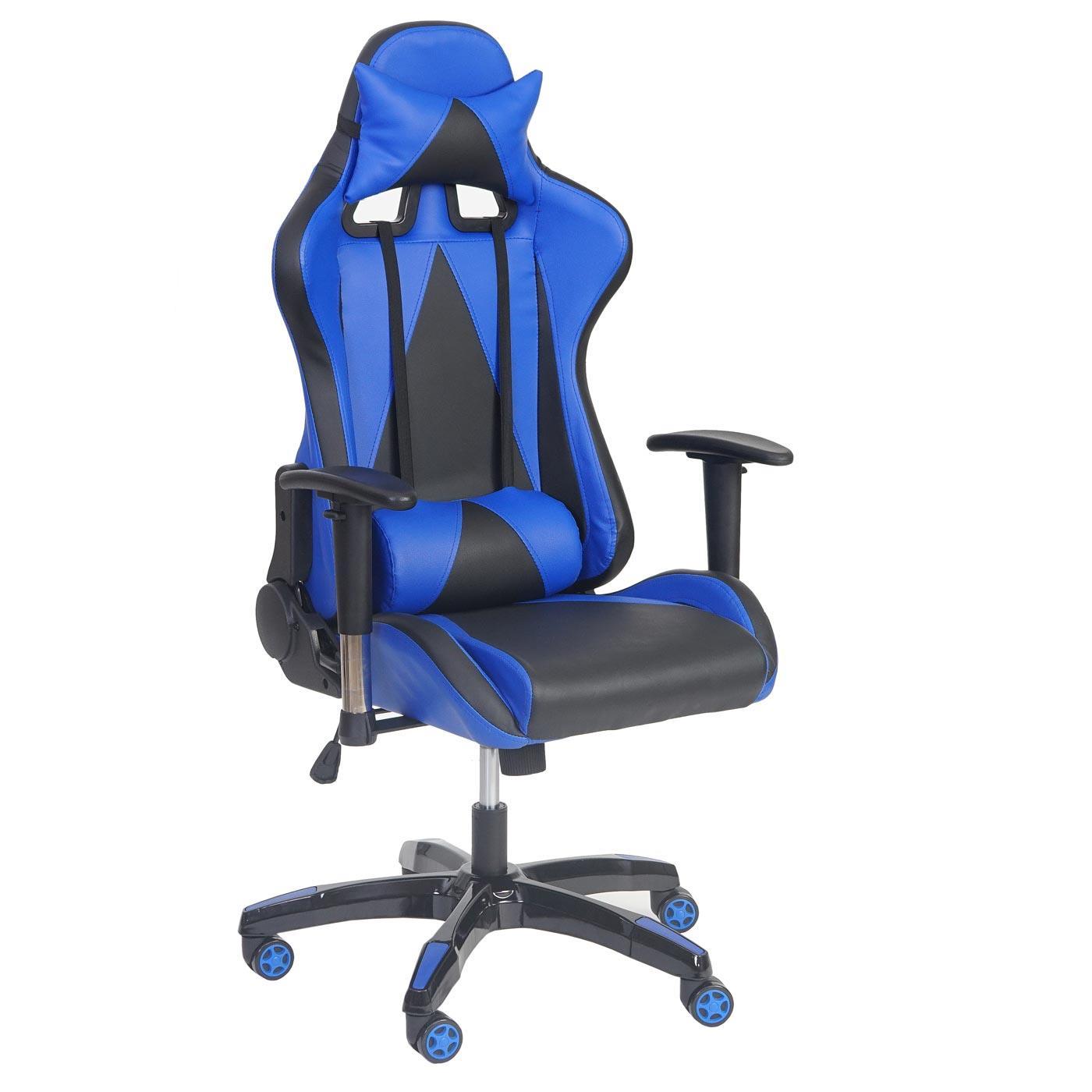 Silla gaming racing luca reclinable en piel color negro for Silla escritorio baquet