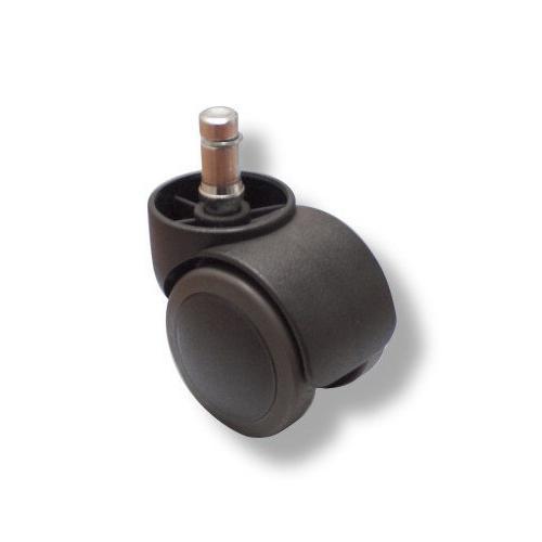 5 ruedas de sillas de oficina para suelos duros 11 50mm for Ruedas de goma para sillas de oficina