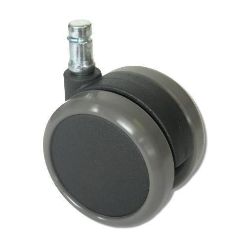 5 ruedas de goma para sillas oficina suelos duros 11 65mm 5x ruedas de goma para suelos duros - Ruedas de sillas ...