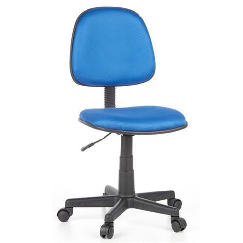 Silla de Oficina CITY 05, Con asiento y respaldo acolchado, altura  ajustable, gran precio! en Azul