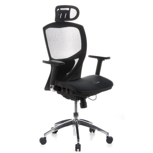 Silla ergonomica venus pro totalmente ajustable en malla for Diseno de silla ergonomica