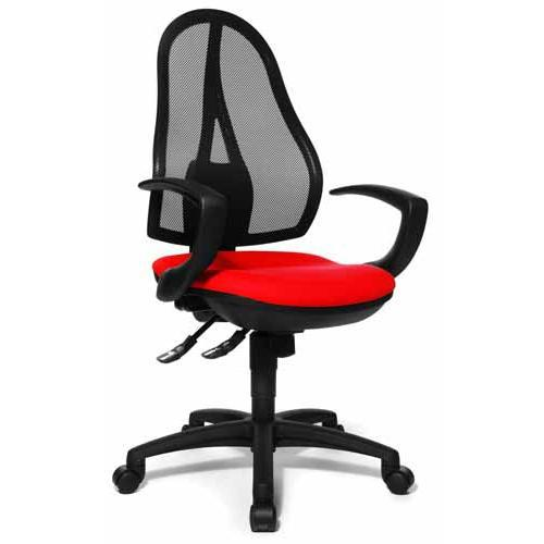 Silla ergon mica open point 20 ajustable 100 rojo for Diseno de silla ergonomica