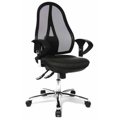 Silla ergon mica open point 30 con soporte lumbar gris for Diseno de silla ergonomica