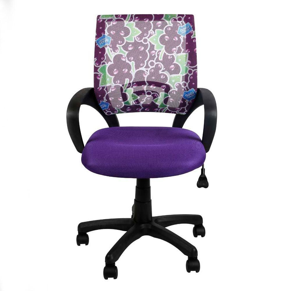 Silla de oficina VISTO JUNIOR diseño juvenil, asiento acolchado, en ...