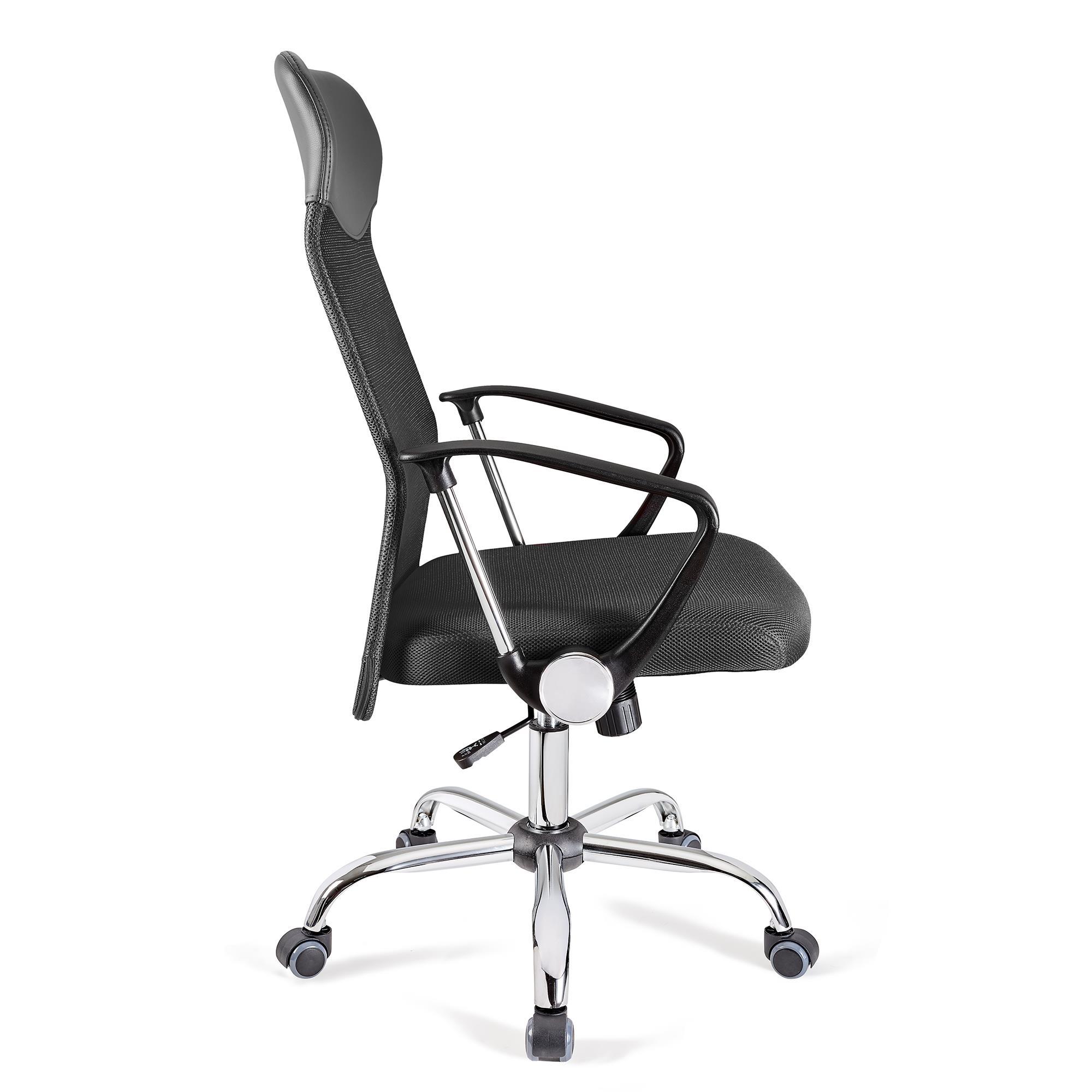 Silla de oficina aspen malla transpirable en gris for Costo de sillas para oficina
