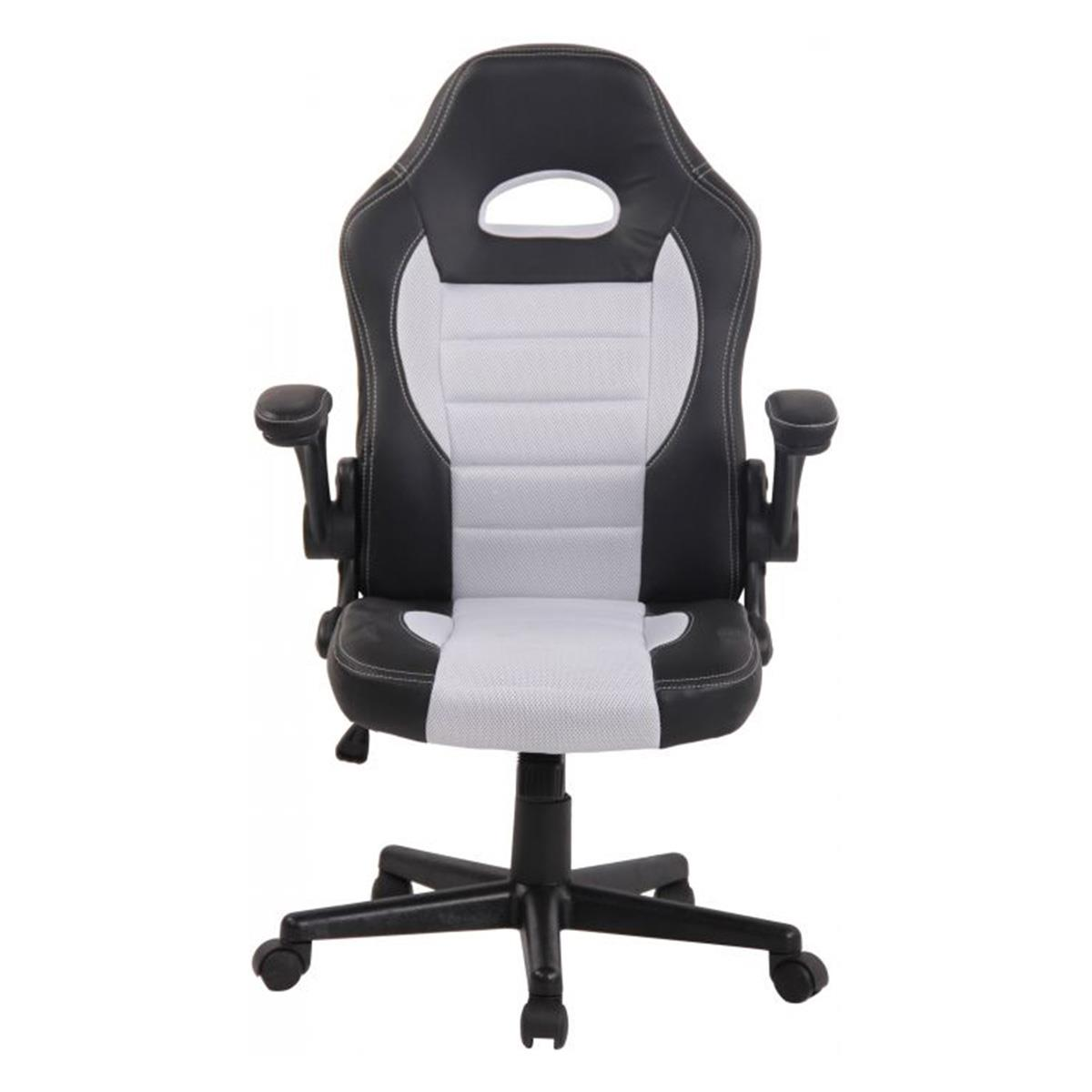 silla gaming deportiva lotus malla color blanco