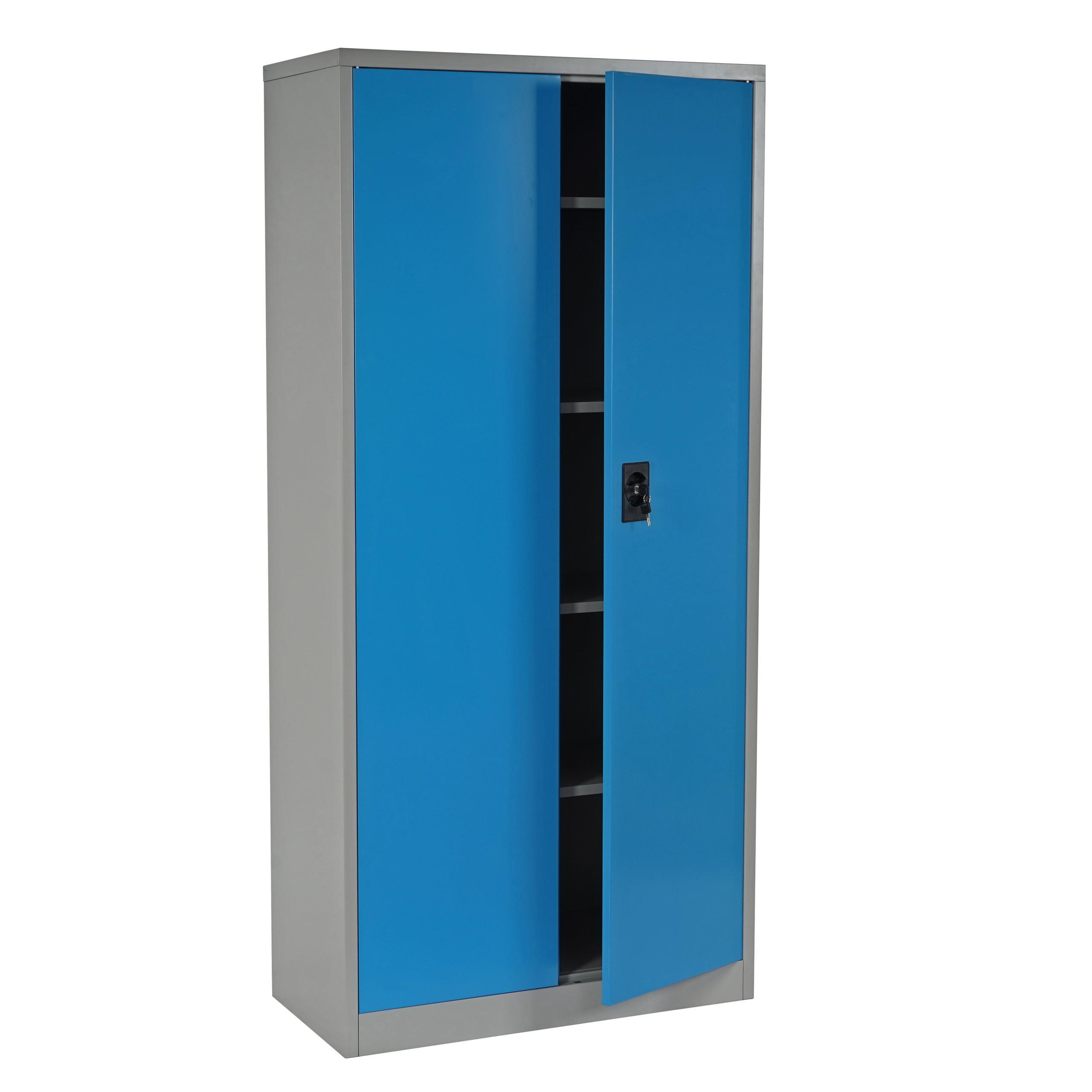 Artesanato Kit Para Banheiro ~ Armario archivador metálico EDIT de 180x85x40 2 puertas batientes, gran capacidad de almacenaje