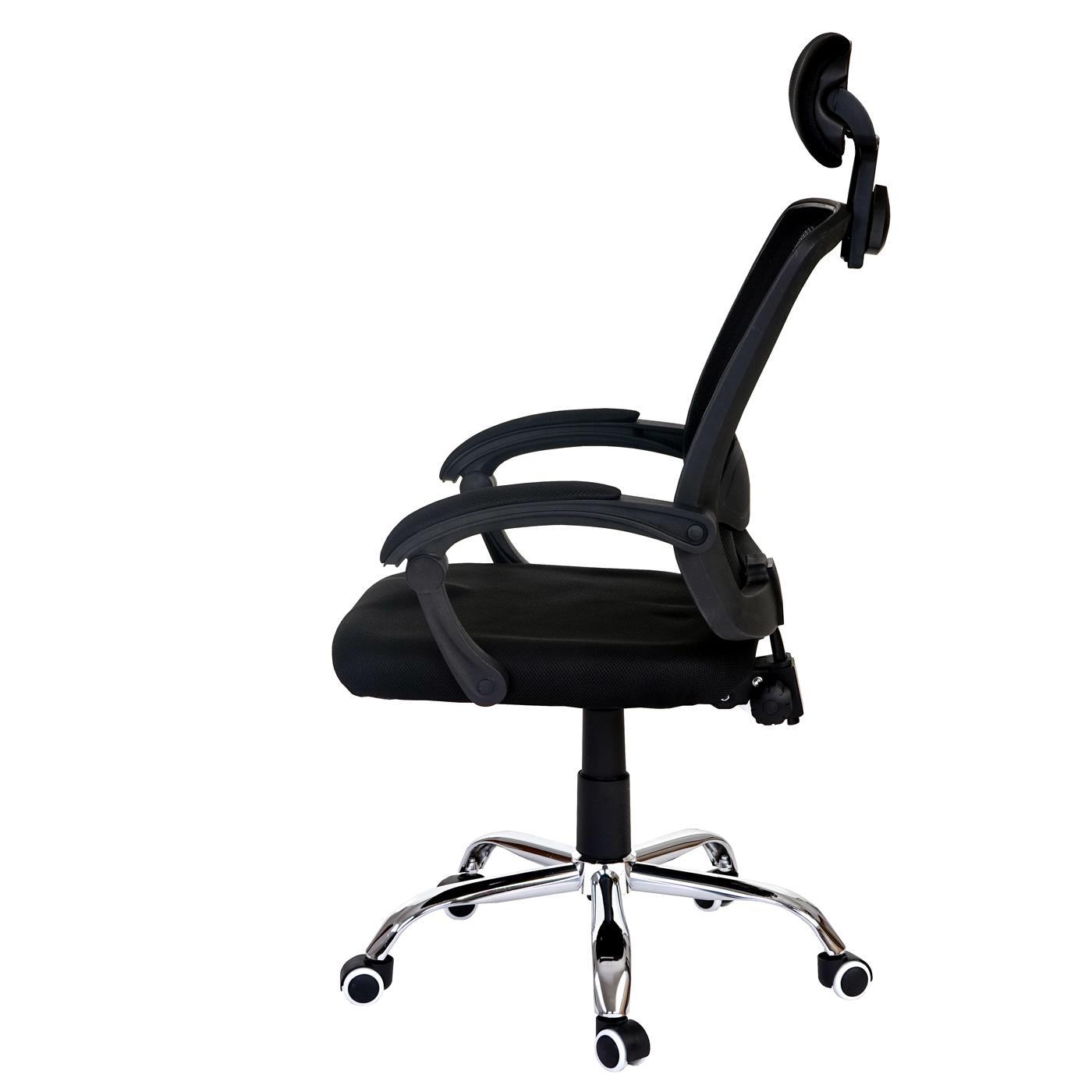 silla ergon mica duna soporte lumbar y base de metal en On silla ergonomica con soporte lumbar