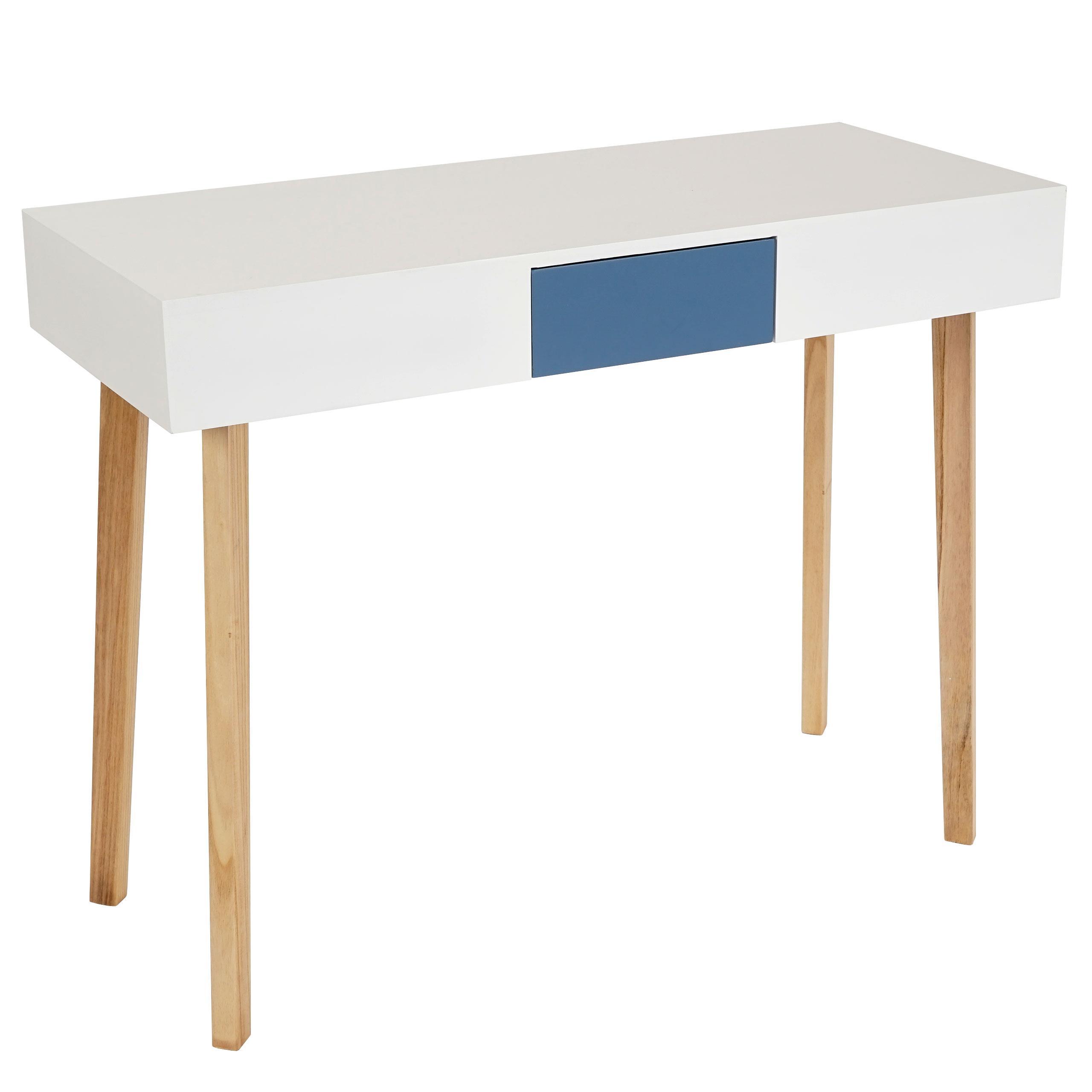 Mesa de ordenador conel superficie en madera 120x55x82 cm mesa de ordenador conel dise o - Mesas de ordenador de diseno ...
