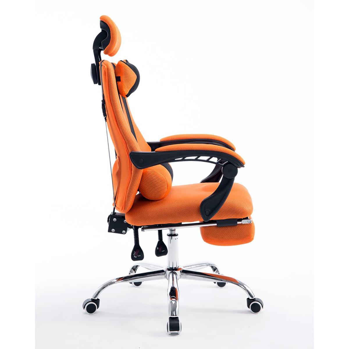 Silla de oficina antares reclinable en varias posiciones - Reposapies oficina carrefour ...