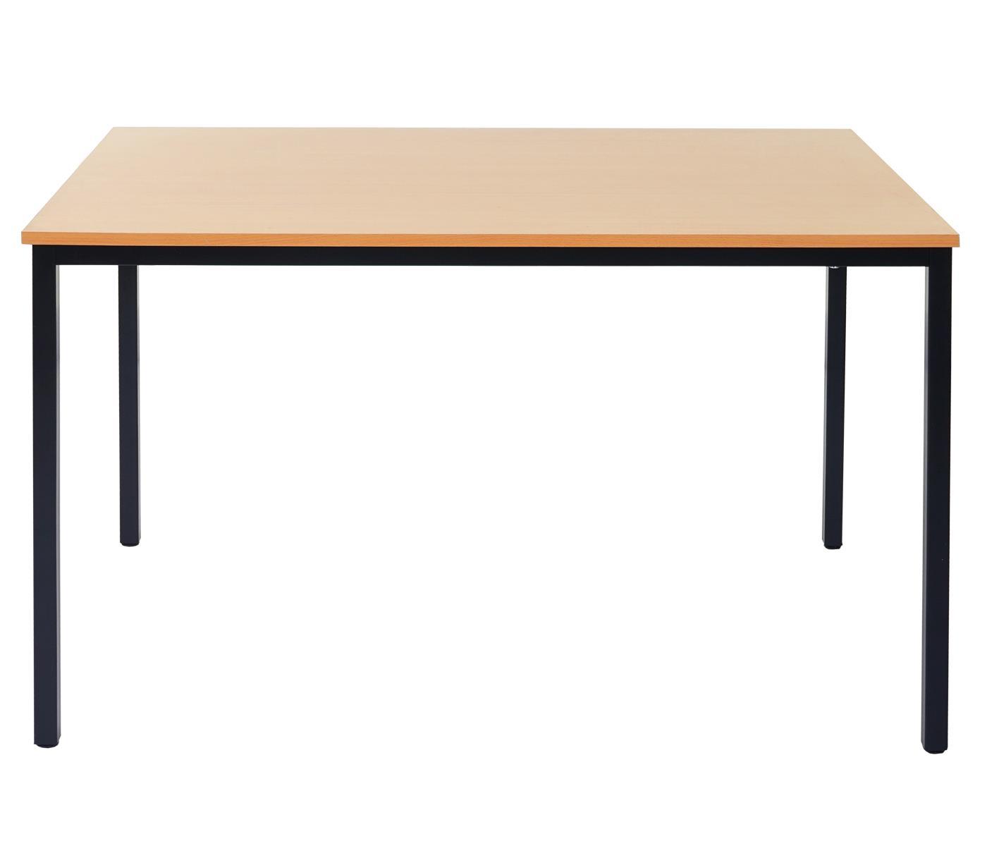 Mesa de oficina demi estructura met lica y superficie en - Estructuras para mesas ...