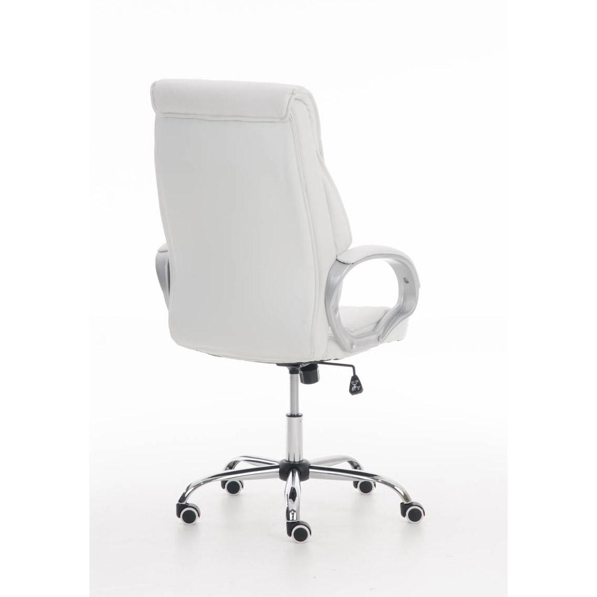 Sill N De Oficina Kimi Gran Respaldo Acolchado En Blanco
