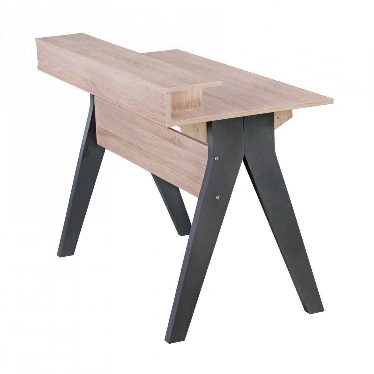 Mesa de ordenador mila superficie en madera 120x59x86 cm mesa de ordenador mila dise o Mesas de ordenador de diseno