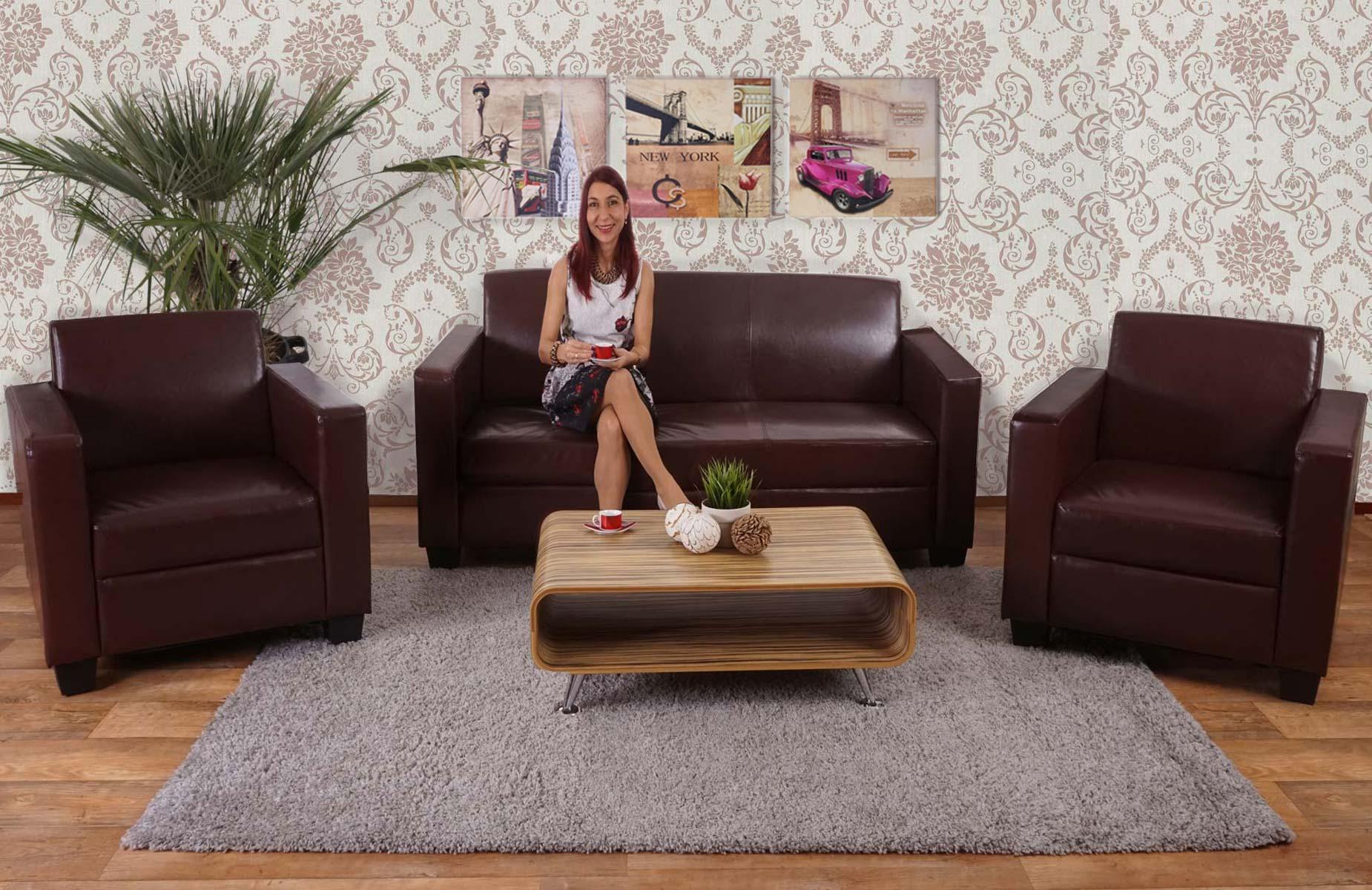 Sof 3 plazas couch gran dise o y muy c modo en piel for Sofas de oficina