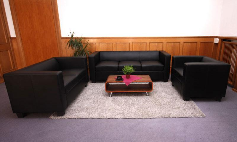 Sof 1 plaza basilio muy c modo en piel color negro for Sofa gran confort precios